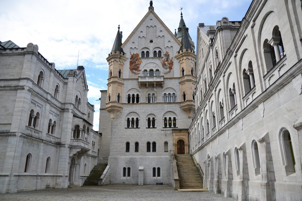 Neuschwanstein Castle Courtyard