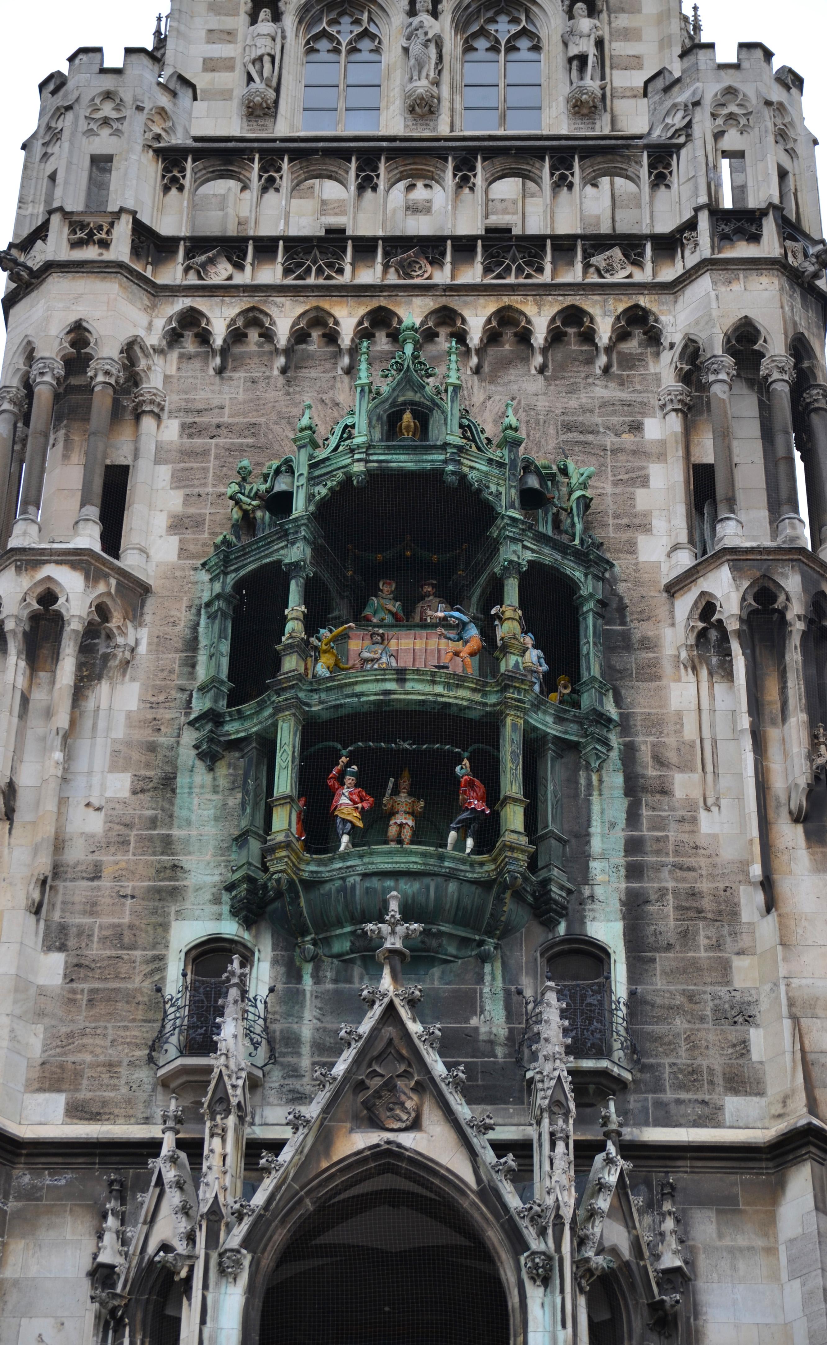 Neues Rathaus Glockenspiel