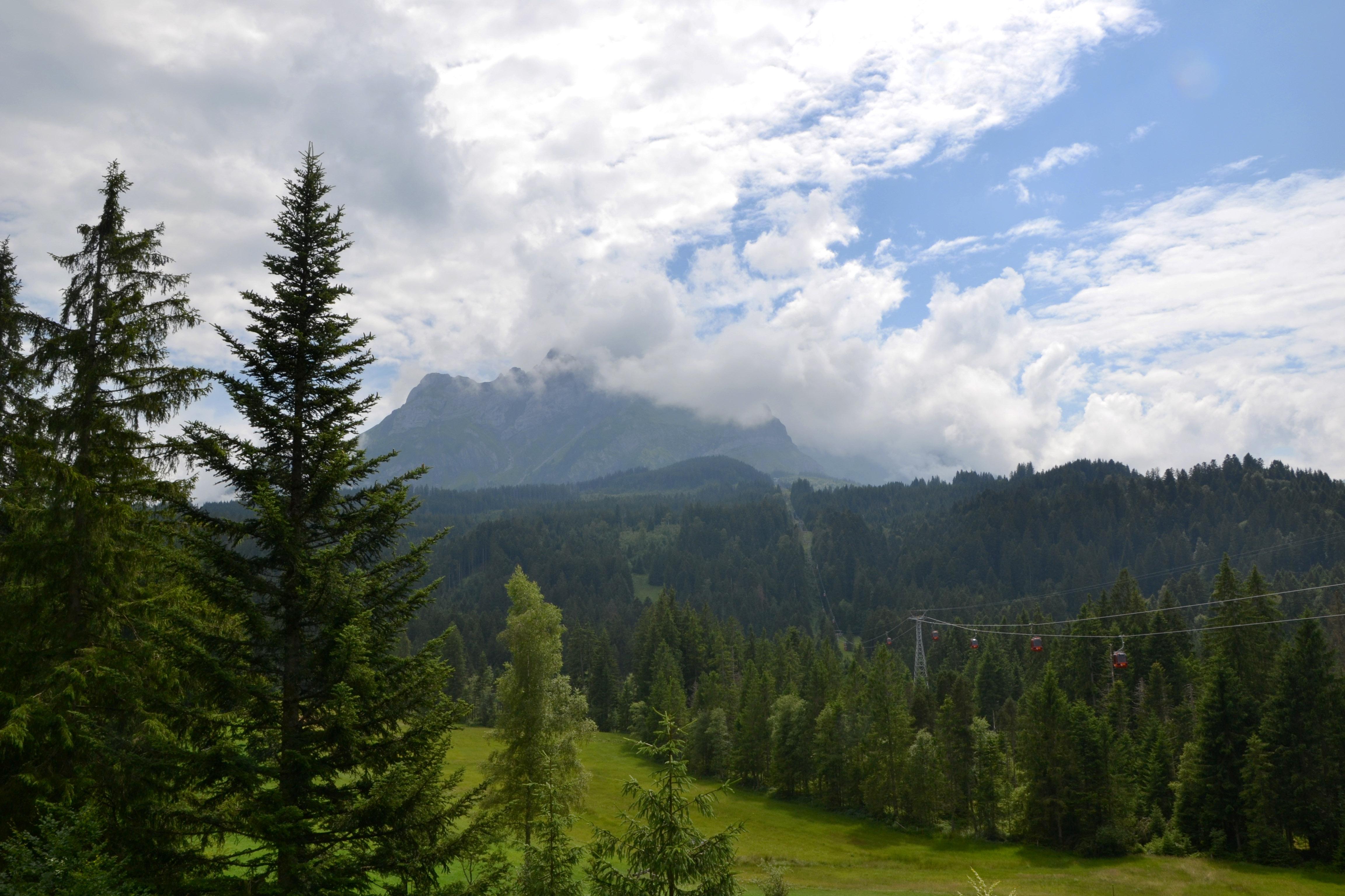 View from Krienseregg