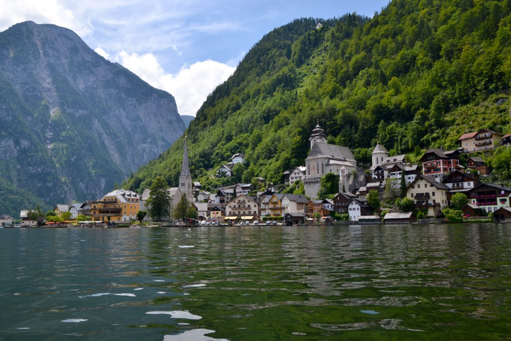 Hallstatt from the water