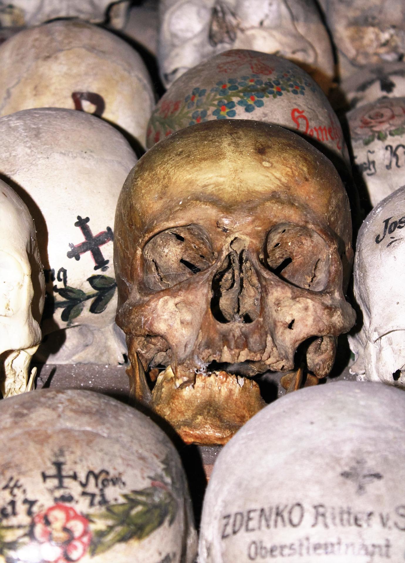 Hallstatt Painted Skulls