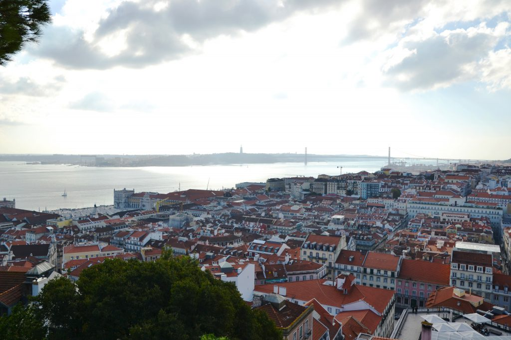 View from Castelo de S. Jorge