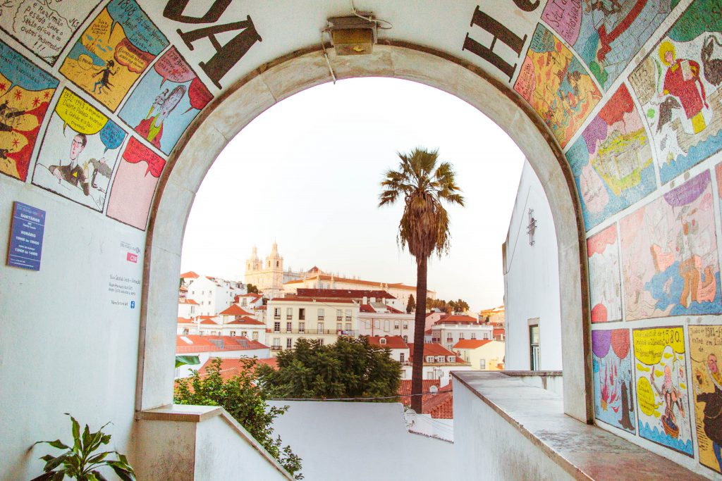 Lisbon Painted Arch