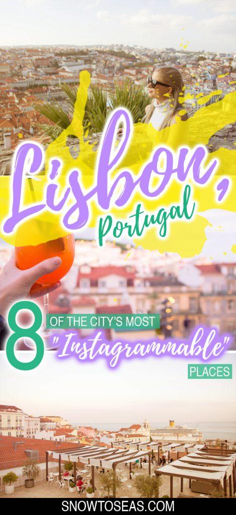 """""""Instagrammable"""" Lisbon"""