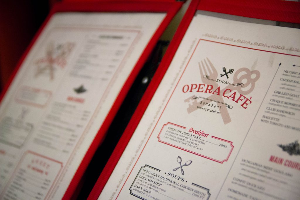 The Opera Cafe Budapest