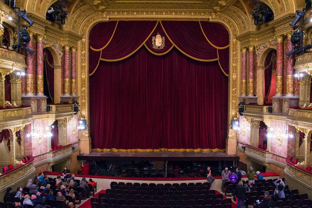 Hungarian State Opera House Auditorium