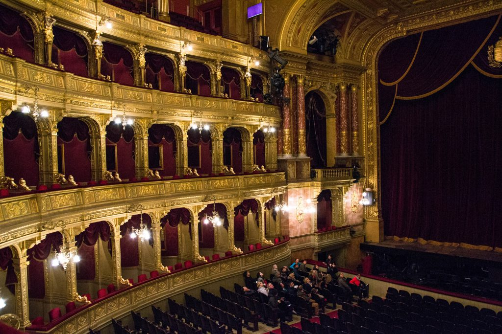 Hungarian State Opera House Auditorium