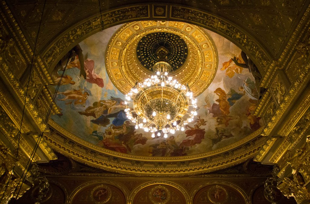 Hungarian State Opera House Ceiling