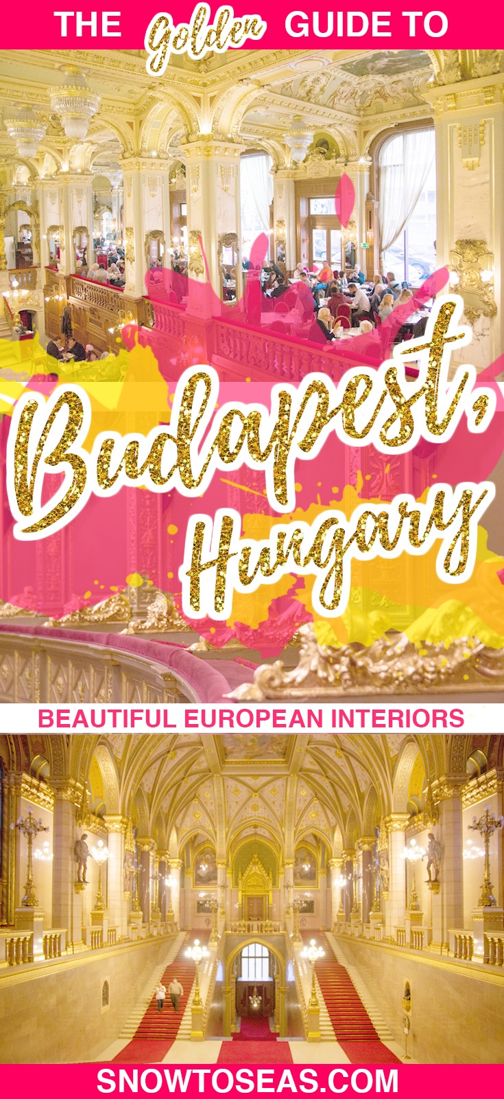 Golden Guide to Budapest Pin