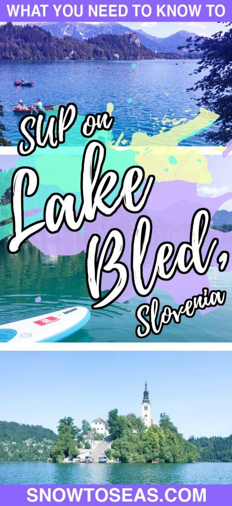 SUP Lake Bled