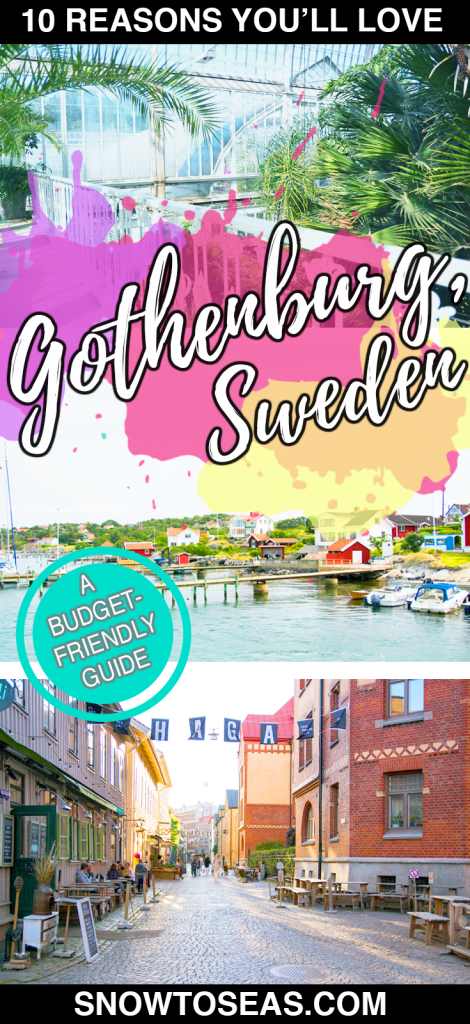 Visiting Gothenburg Pin