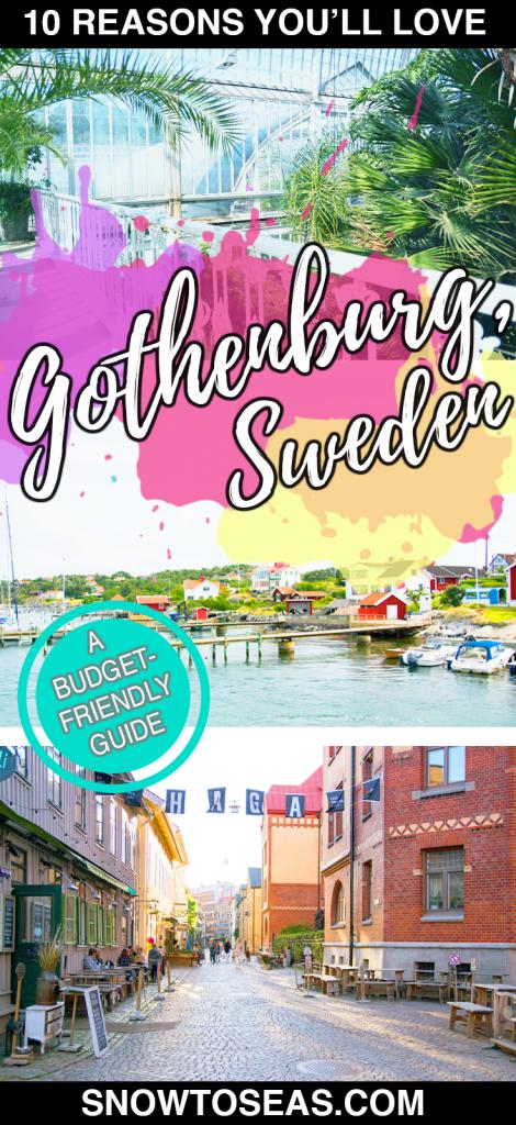 Visiting Gothenburg Pin