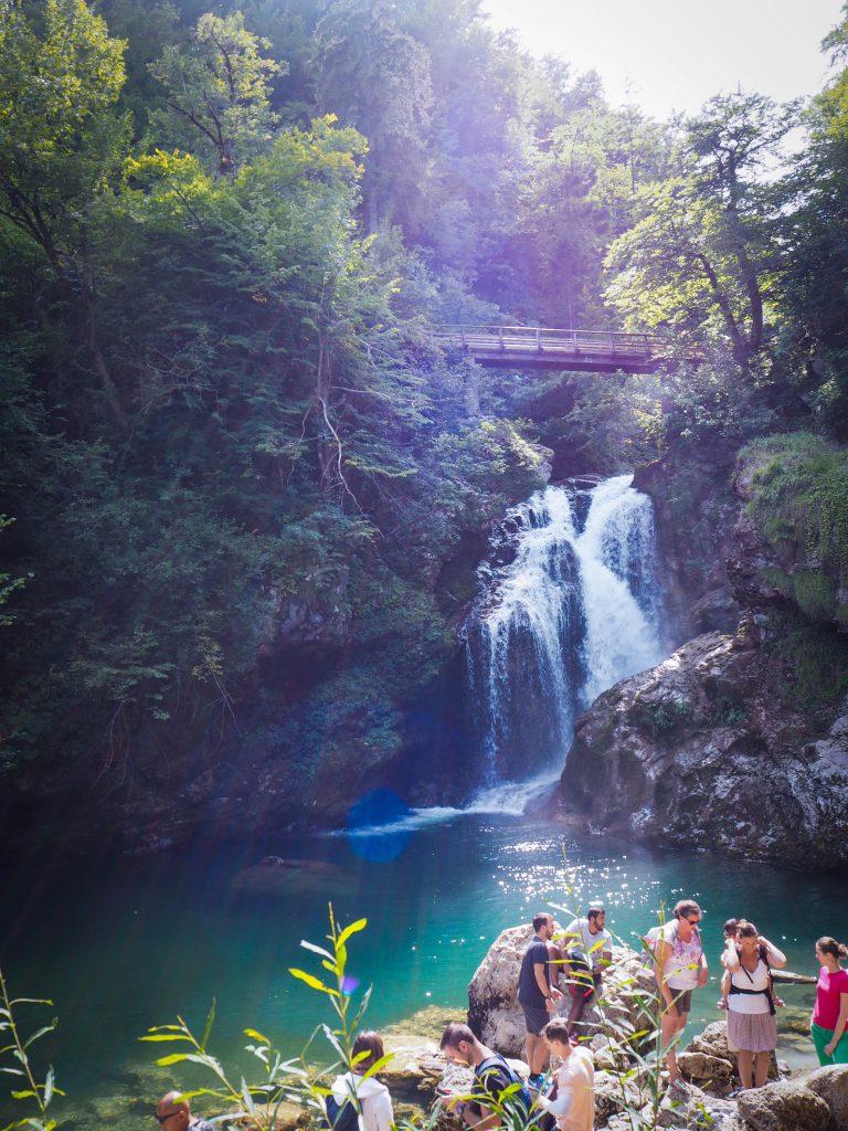 Vintgar Waterfall