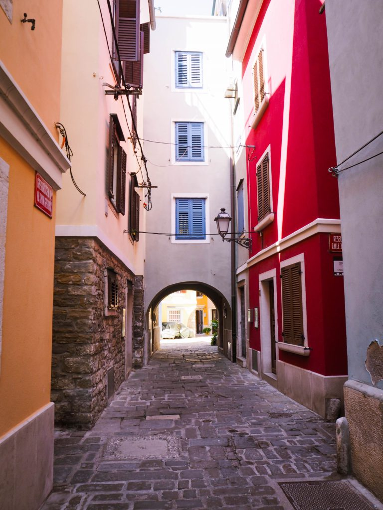 City Streets in Piran