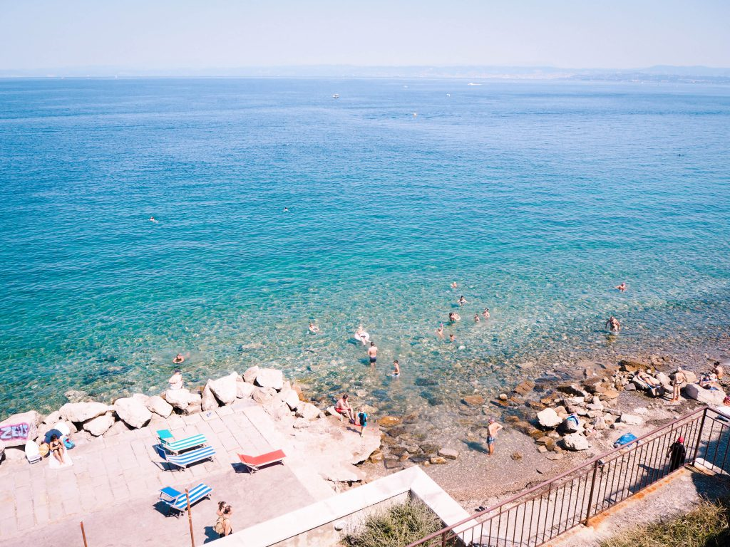 the Adriatic Sea by Piran