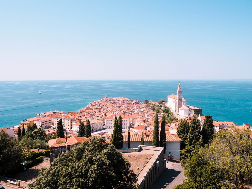 View from Piran's City Walls