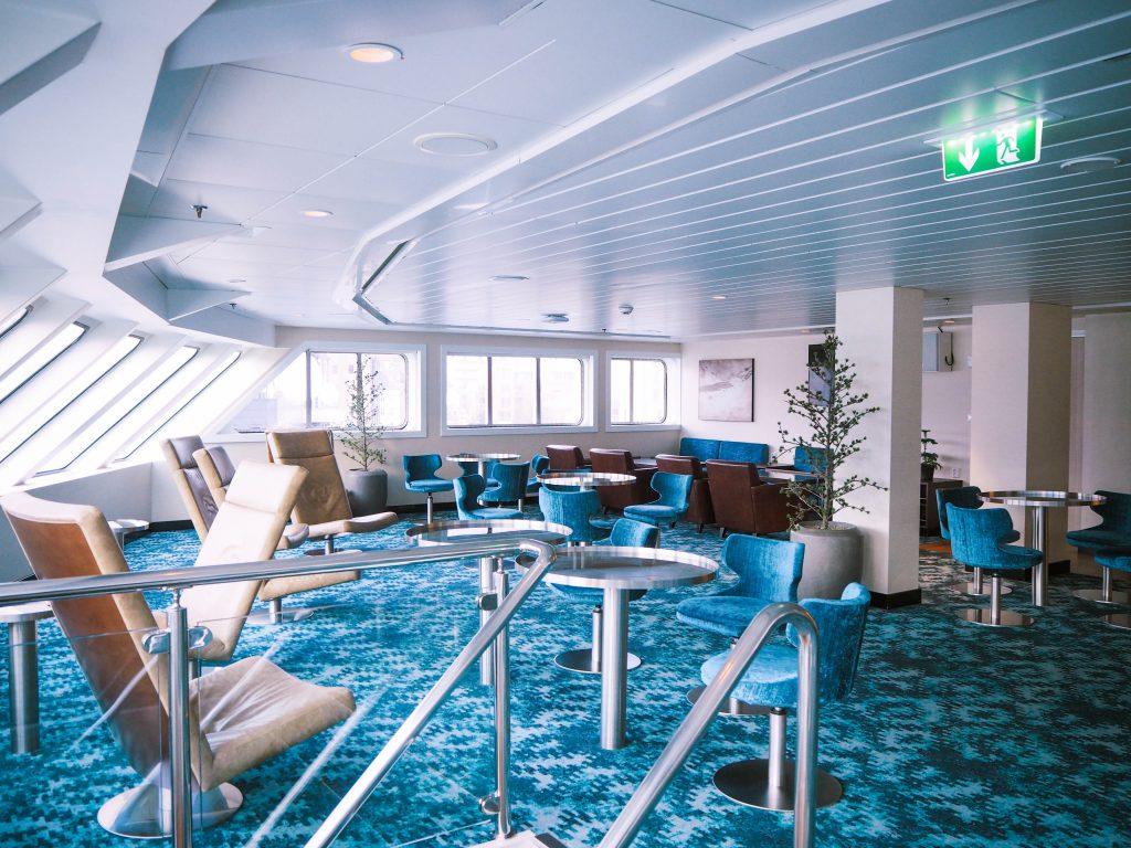 Inside Hurtigruten's MS Spitsbergen
