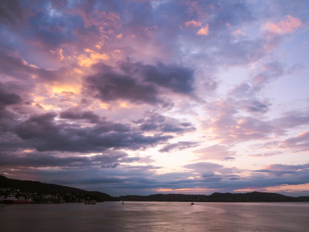 Sunset in Bergen