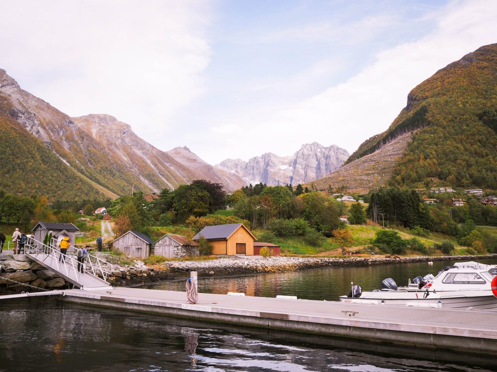 Urke, Norway and the Sunnmøre Alps