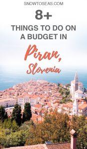 Visit Piran Slovenia Pin