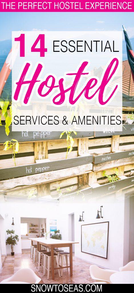 Choosing a Hostel Pin