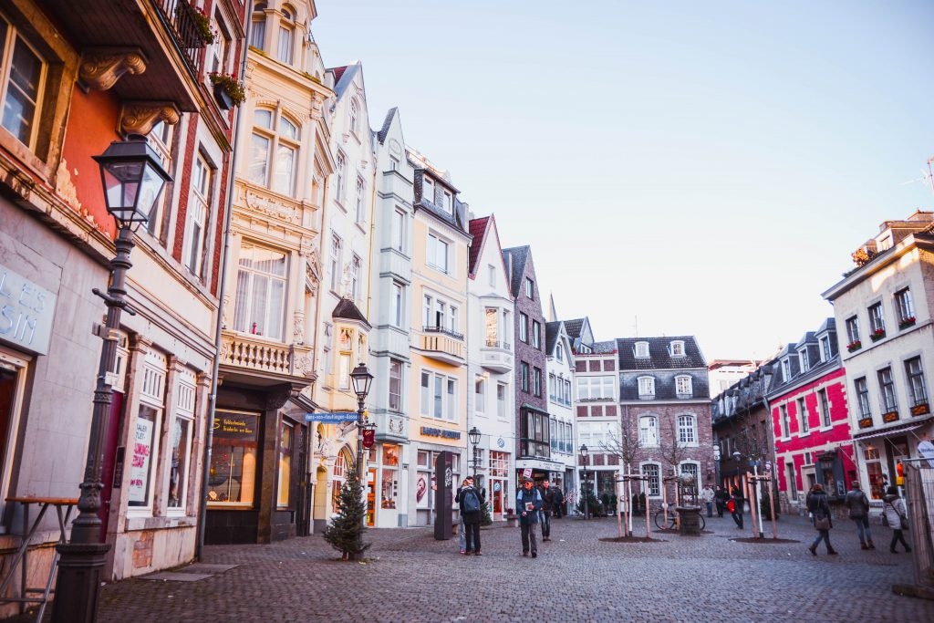 Old Town Aachen, Germany