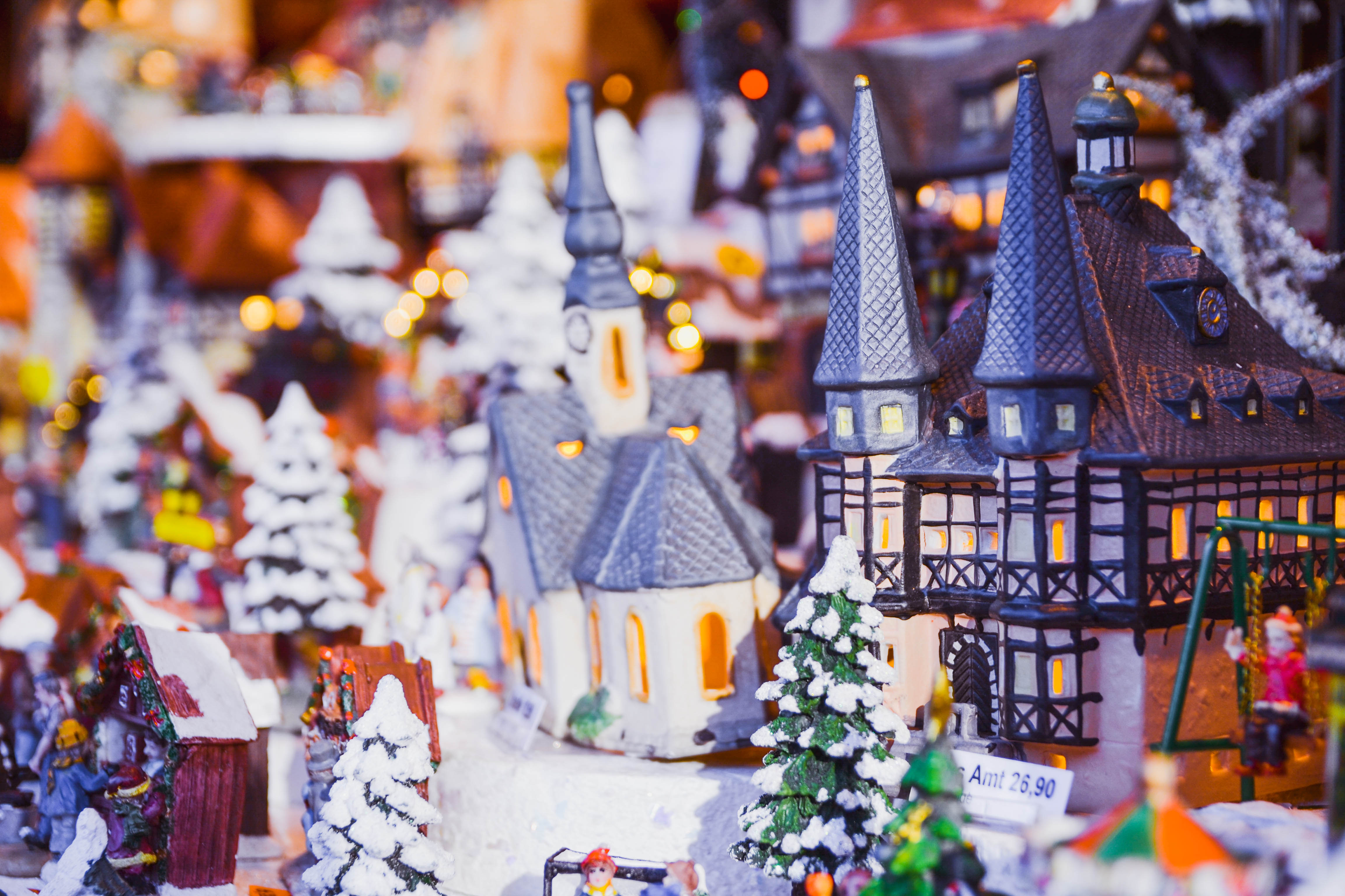 Decorations at Aachen, Germany's Christmas Market