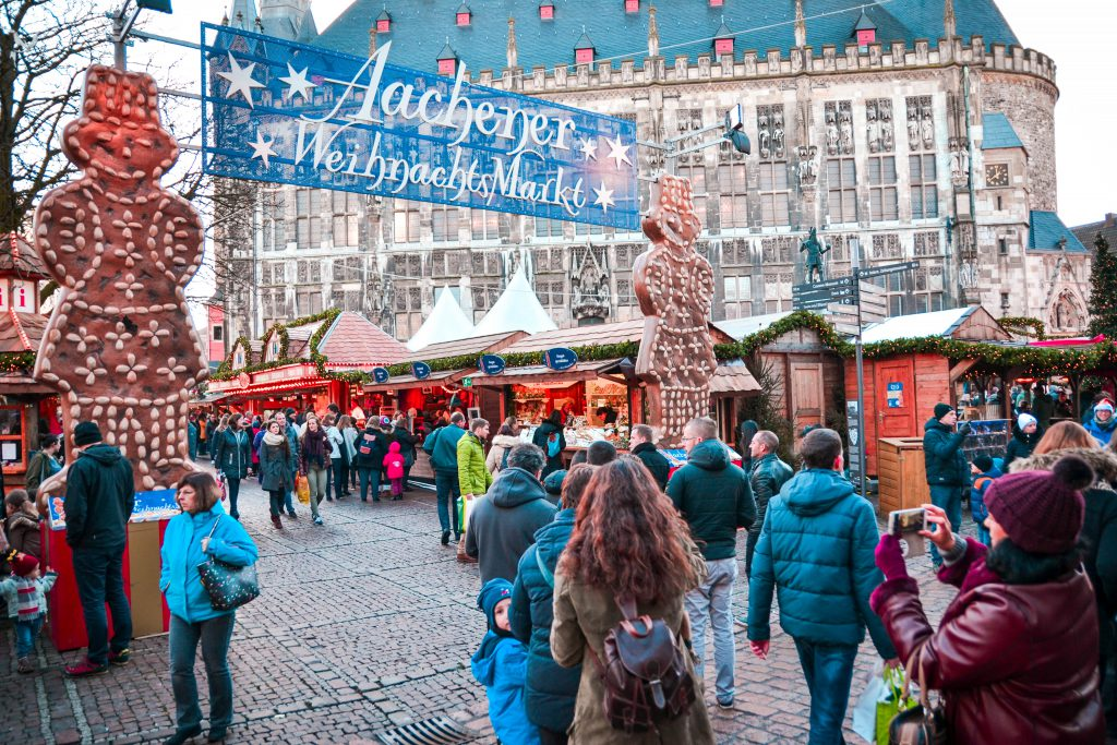 Aachen, Germany Christmas Market