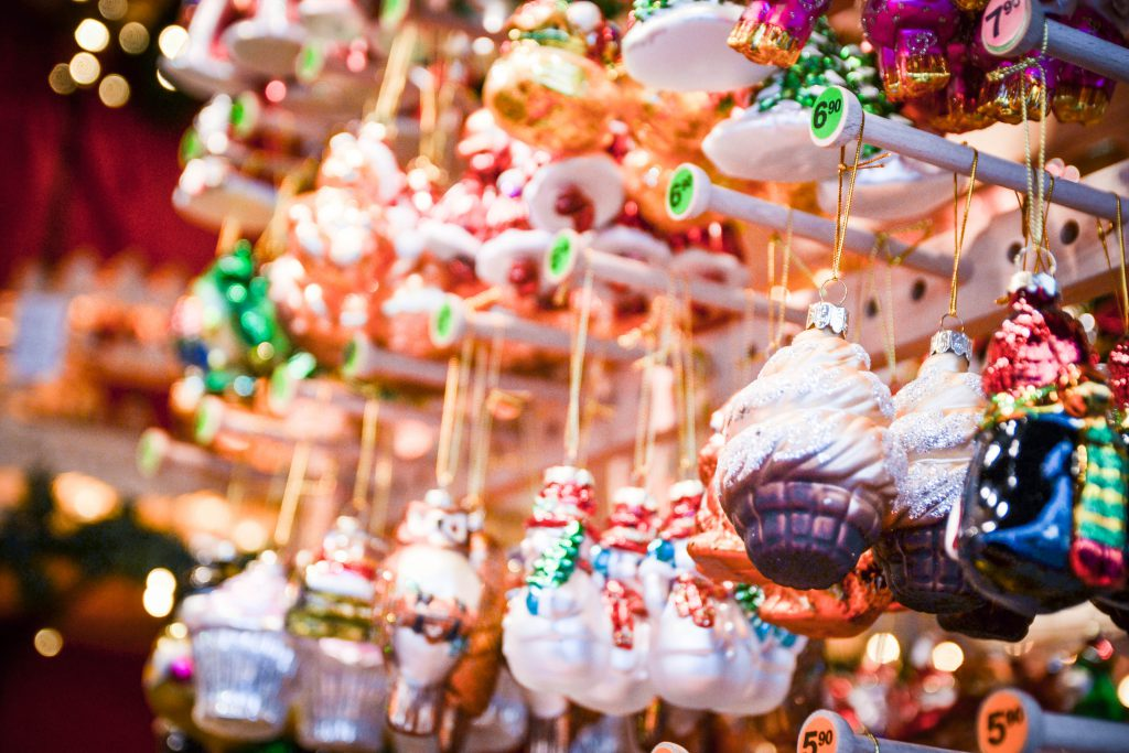 Ornaments at Aachen's Christmas Market