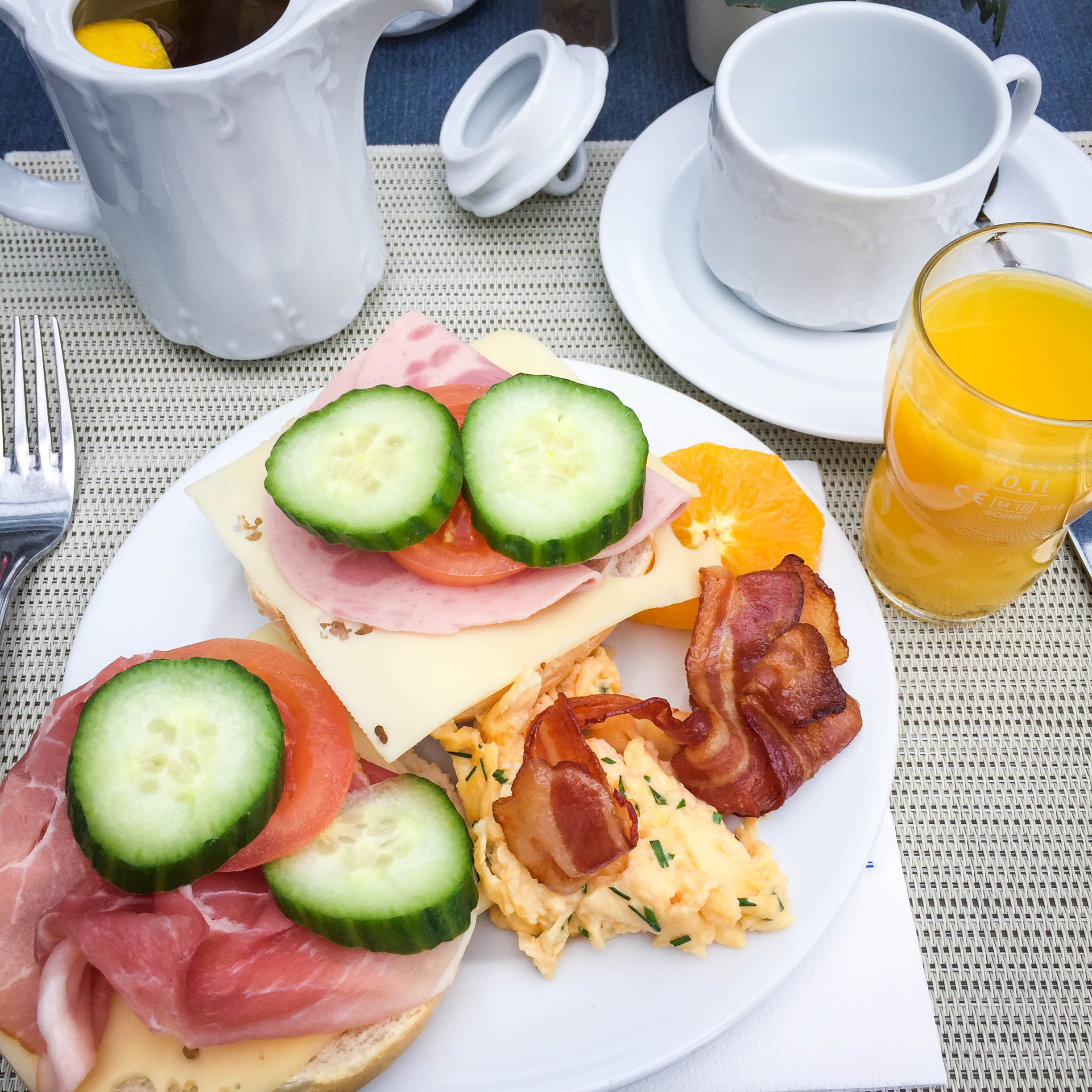 Breakfast at H+ Hotel Alpina Garmisch-Partenkirchen