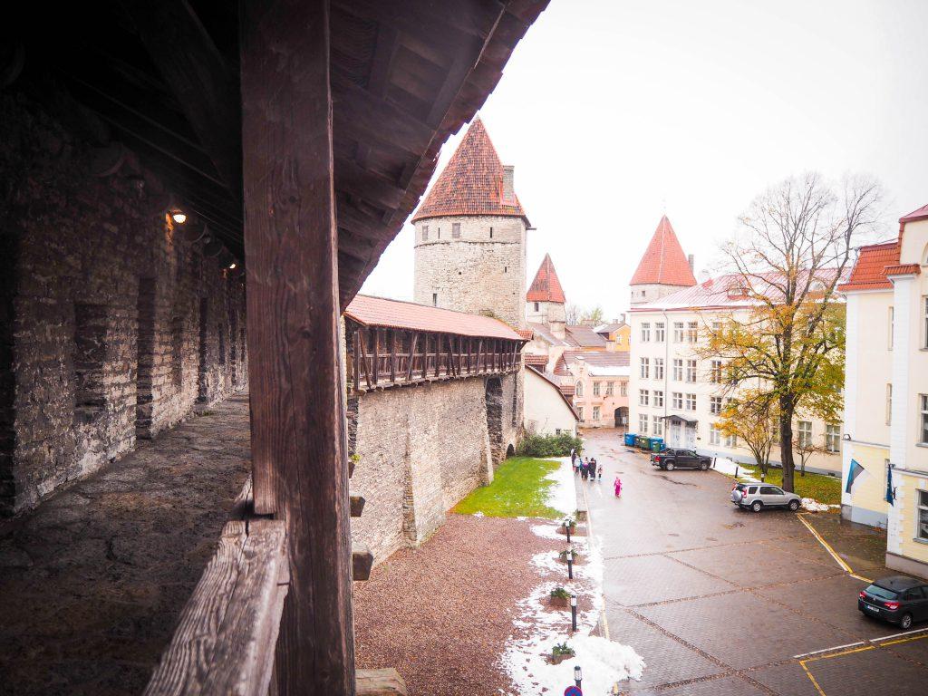 Tallinn City Walls, Estonia