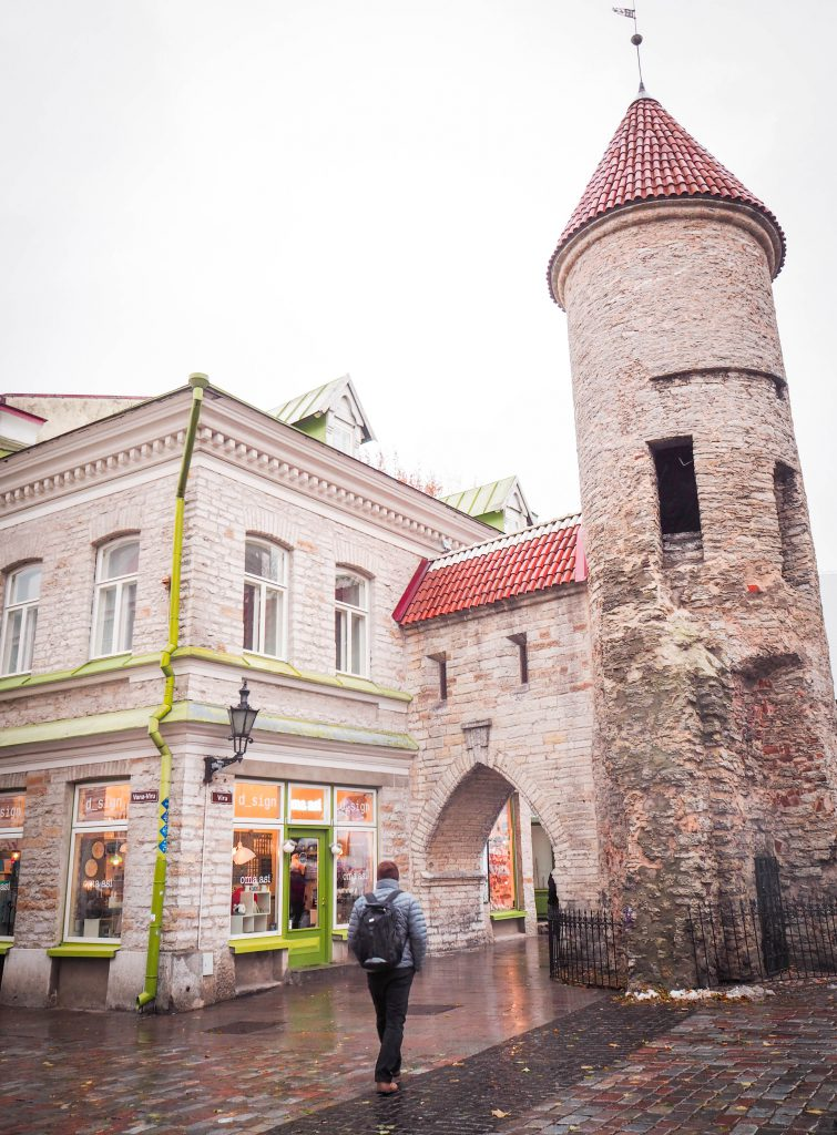 Viru Gate, Tallinn, Estonia