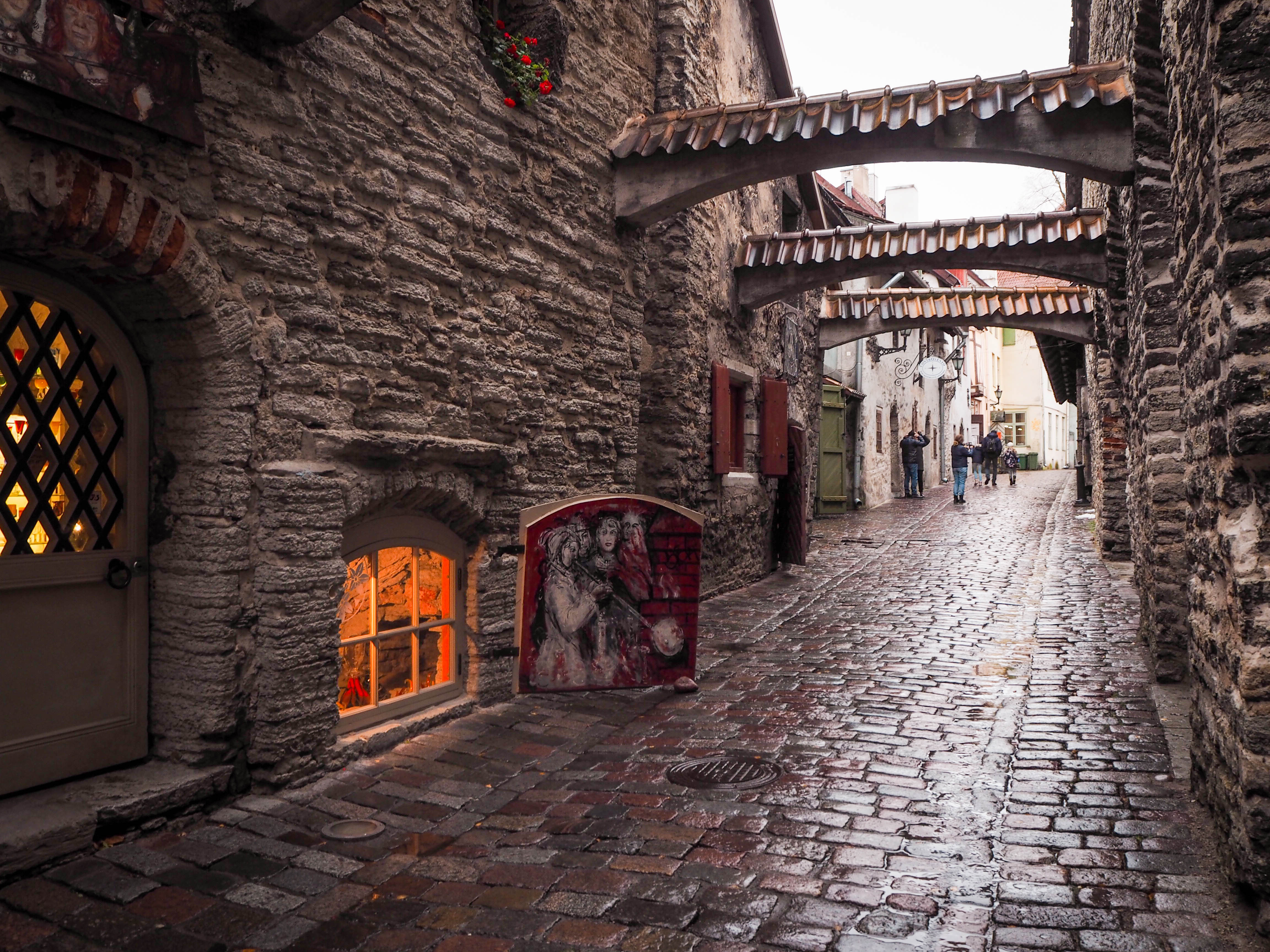 St. Catherine's Passage, Tallinn, Estonia