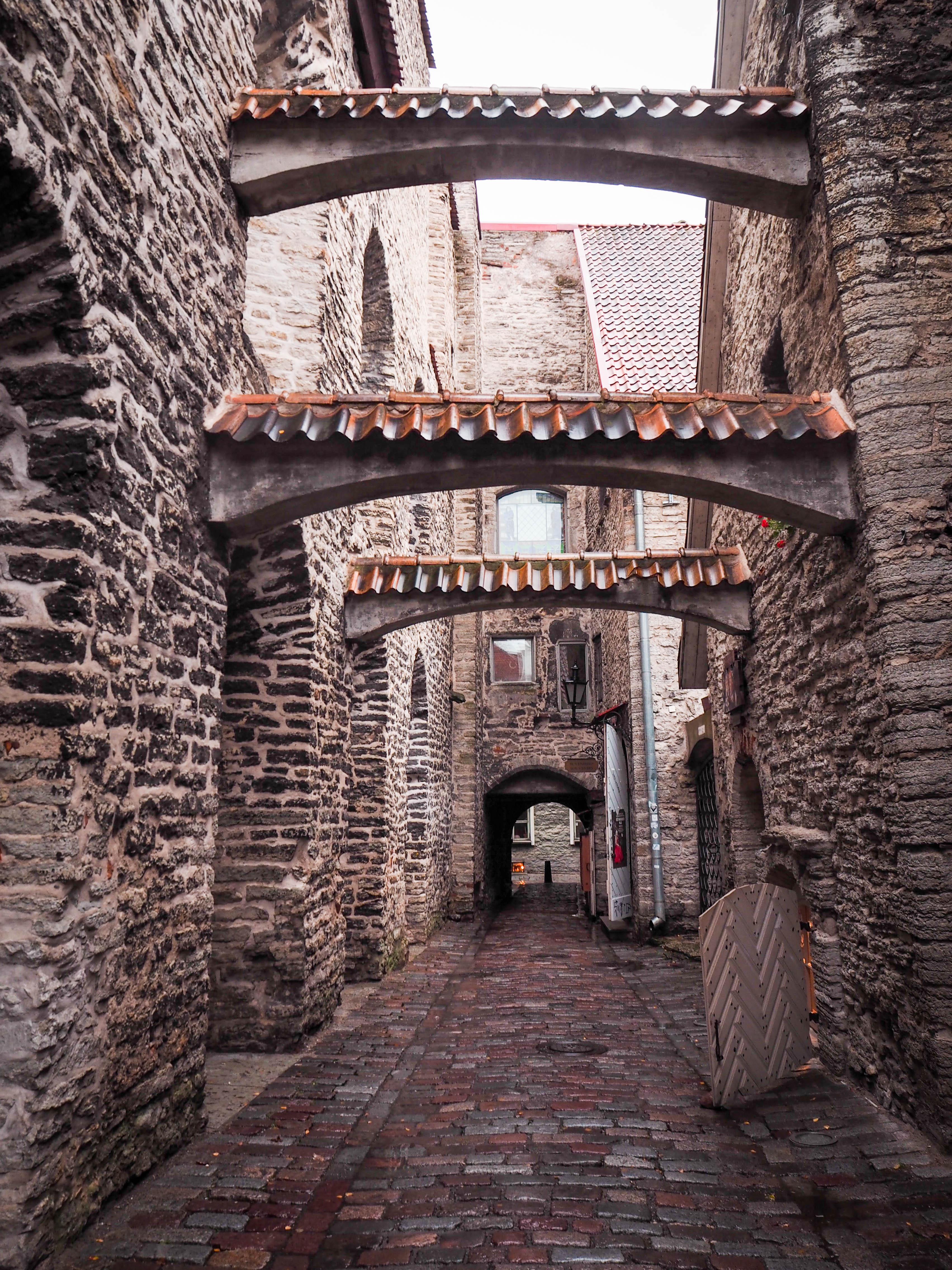 St. Catherine's Passage, Tallinn, Estonia