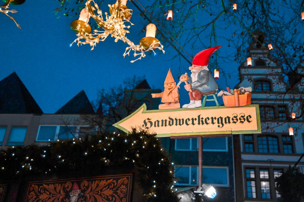 Cologne, Germany Old Town Christmas Market