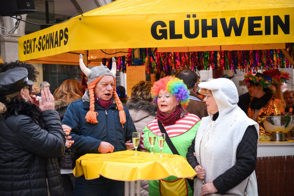 Fasching in Munich, Germany