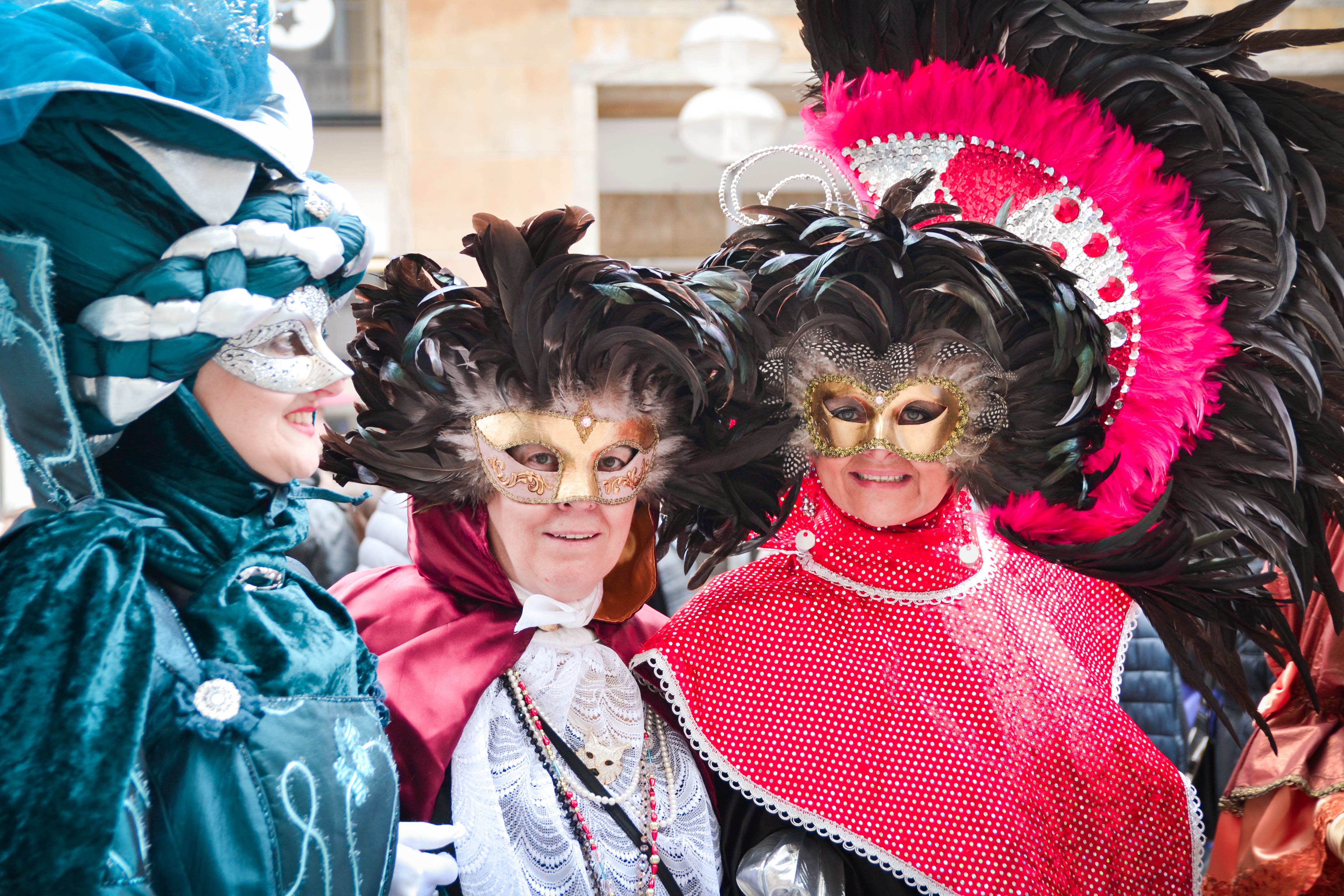 Costumes during Fasching in Munich