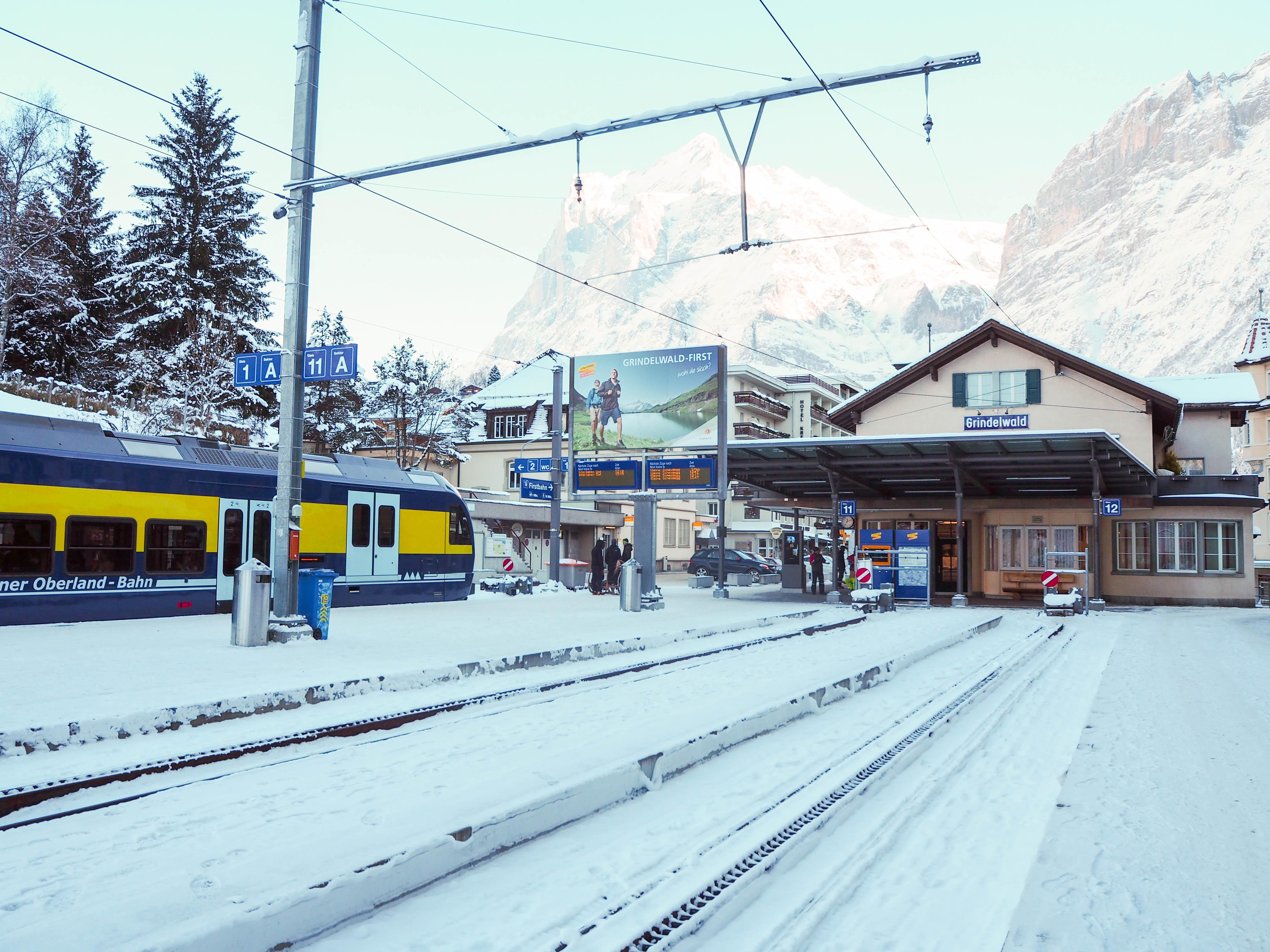 Grindelwald, Switzerland Train Station
