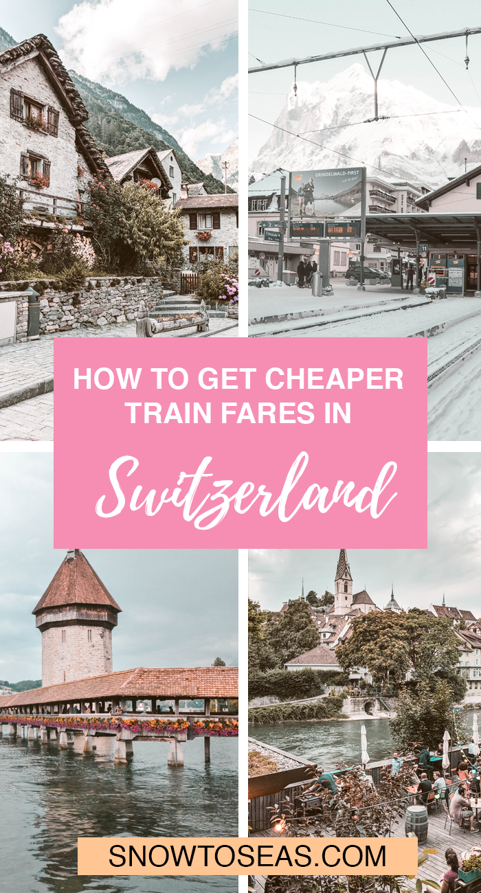 Switzerland on a Budget: SBB Train Fares for Less Pinterest Pin