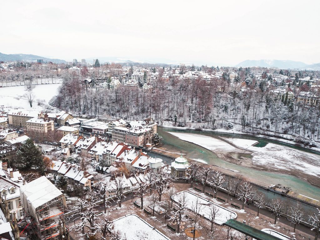 View from Berner Münster in Bern, Switzerland