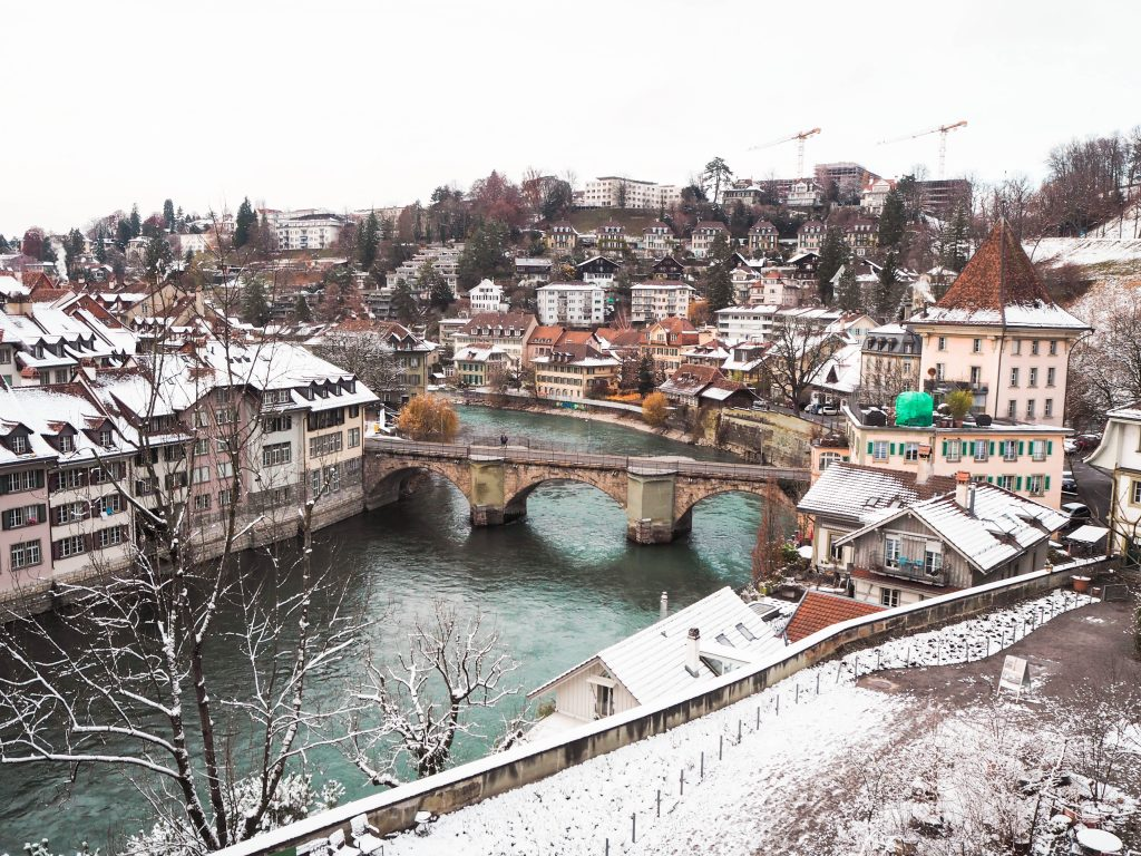 Aare Loop in Bern, Switzerland