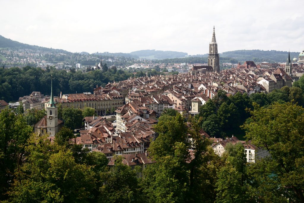 Bern, Switzerland in the Summer