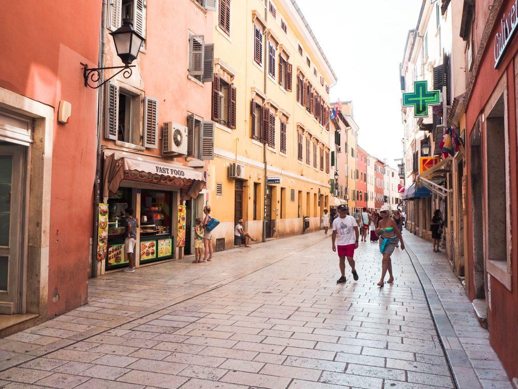 Rovinj, Croatia Old Town