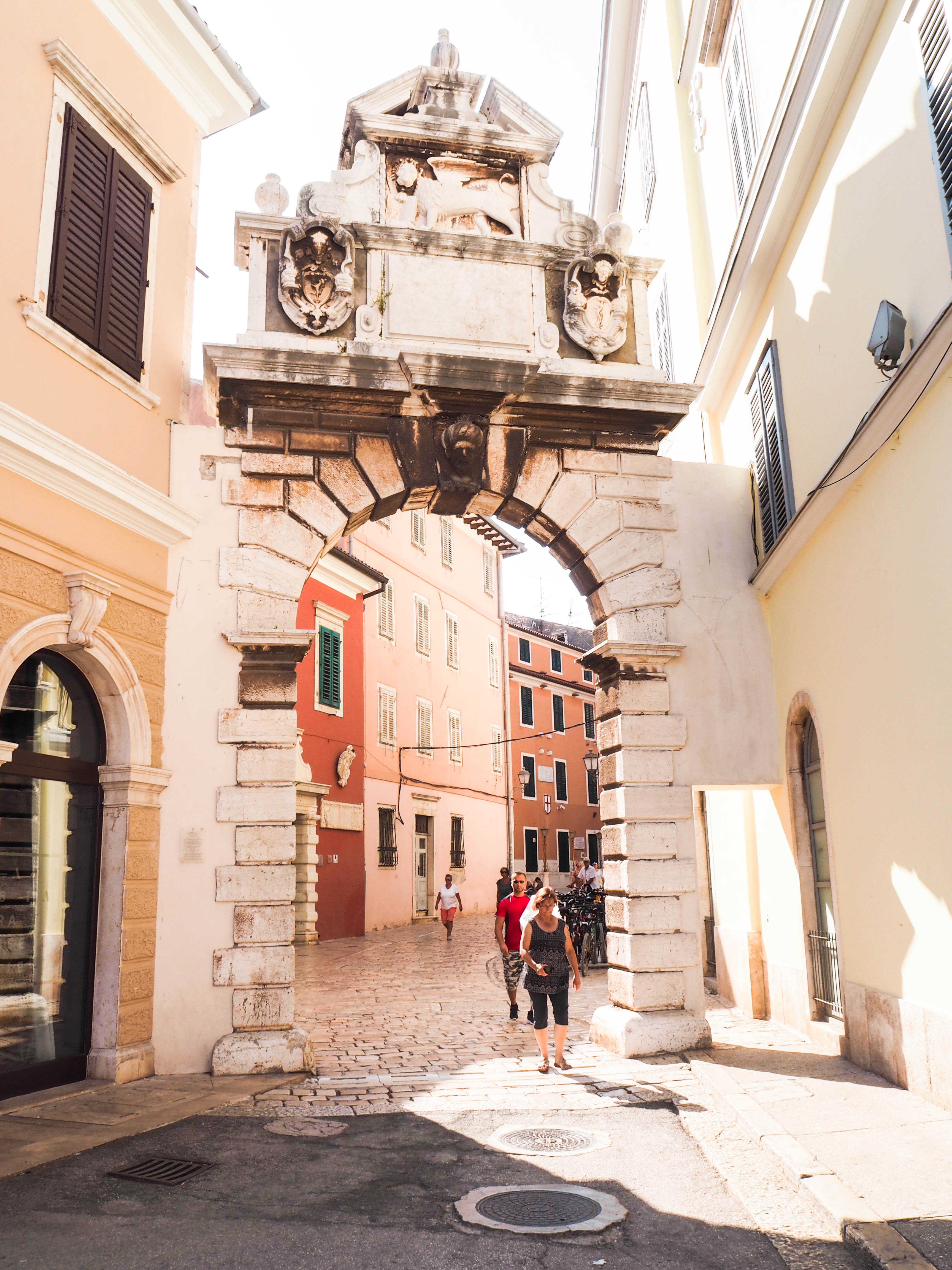 Balbi's Arch, Rovinj, Croatia