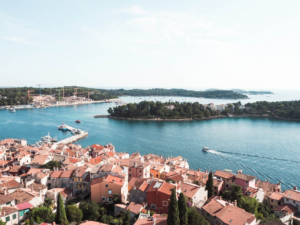 Bird's-Eye View Rovinj, Croatia