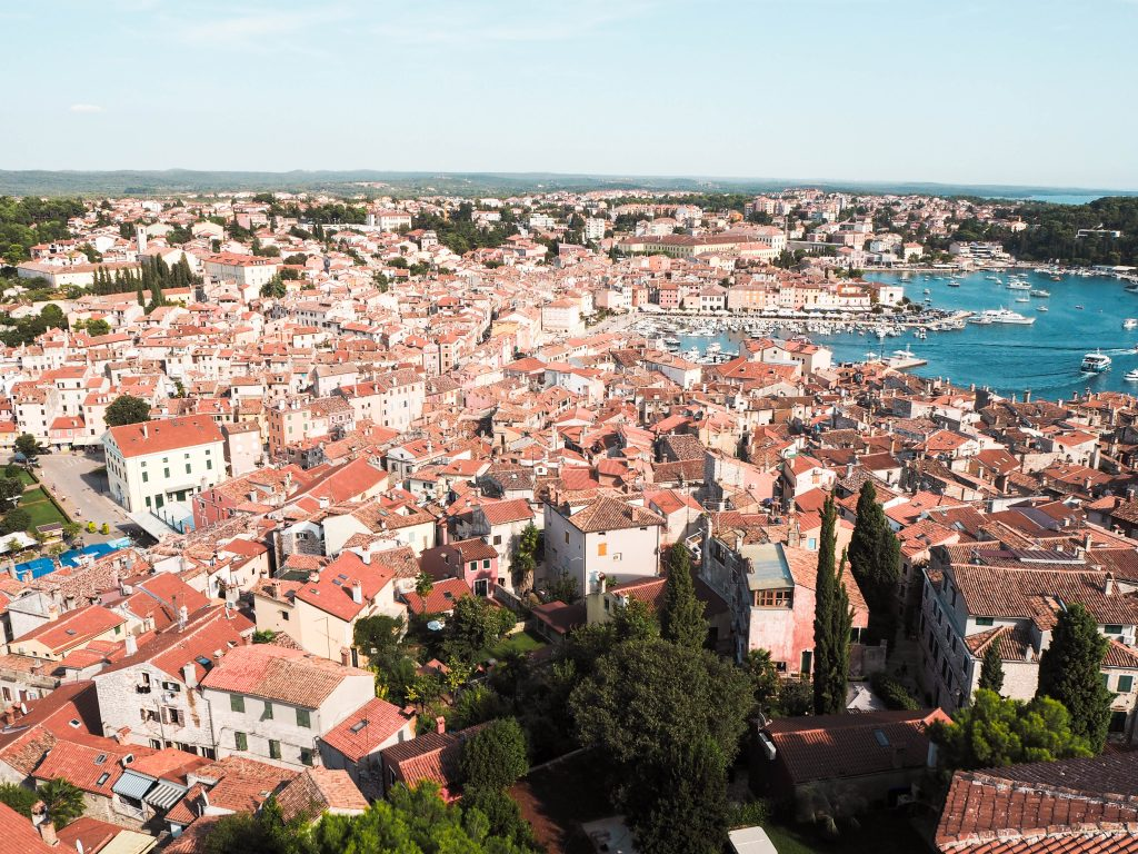 Best View of Rovinj, Croatia