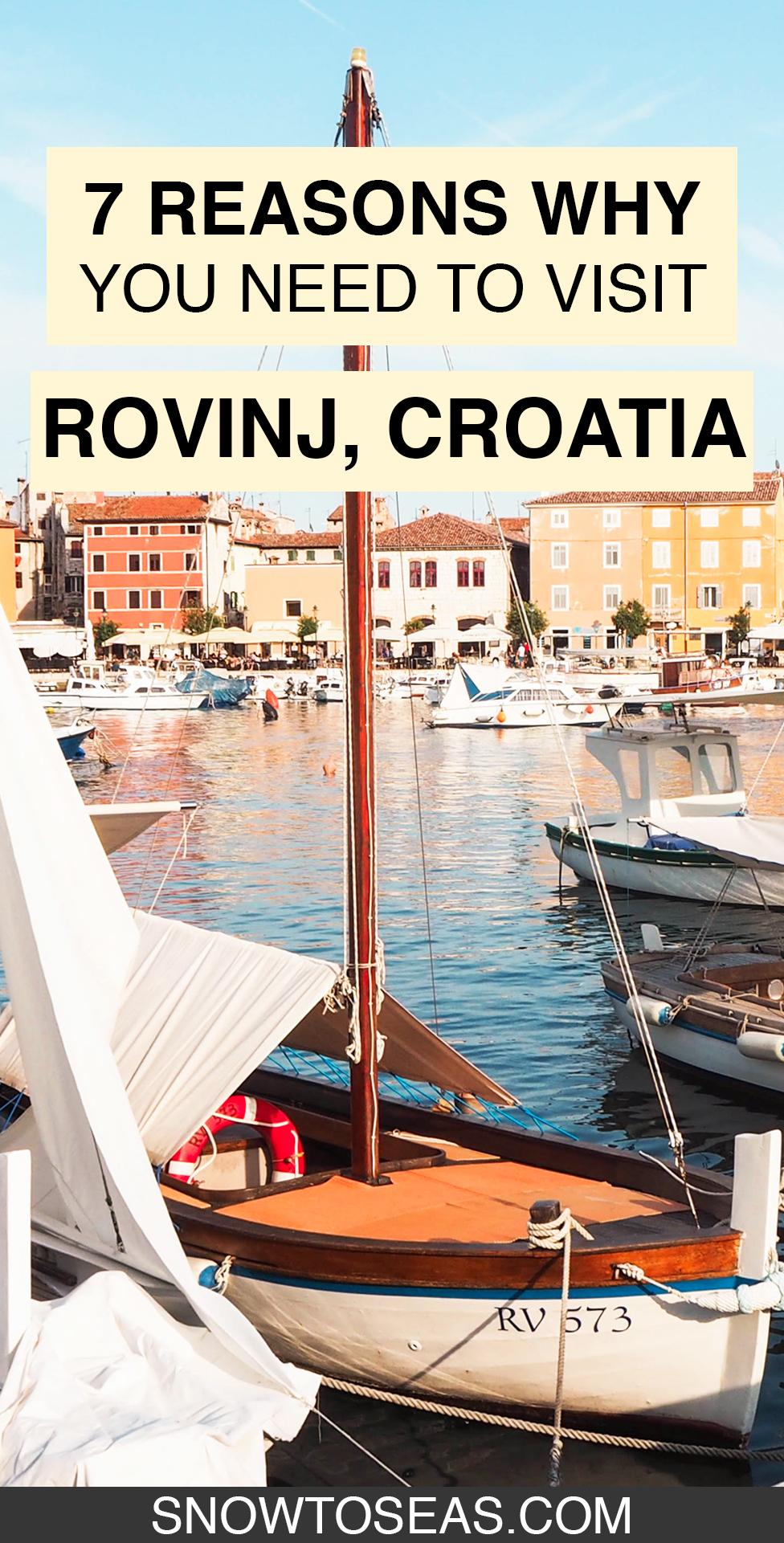 Visit Rovinj, Croatia