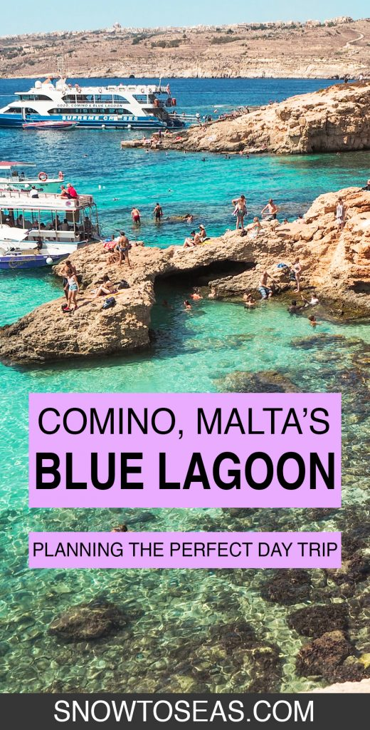 The Blue Lagoon, Comino, Malta pin