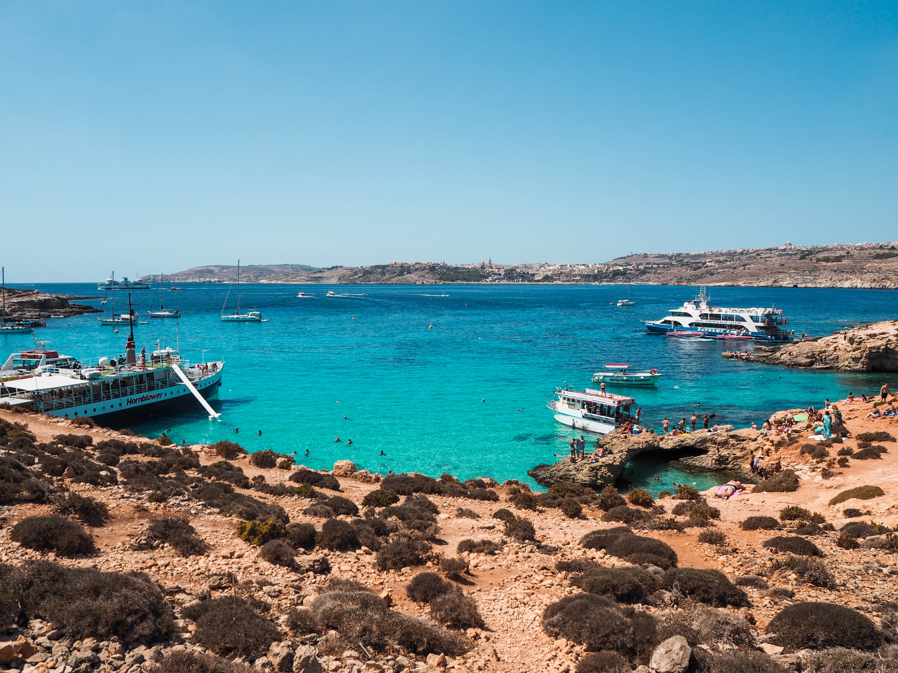 The Blue Lagoon, Comino, Malta