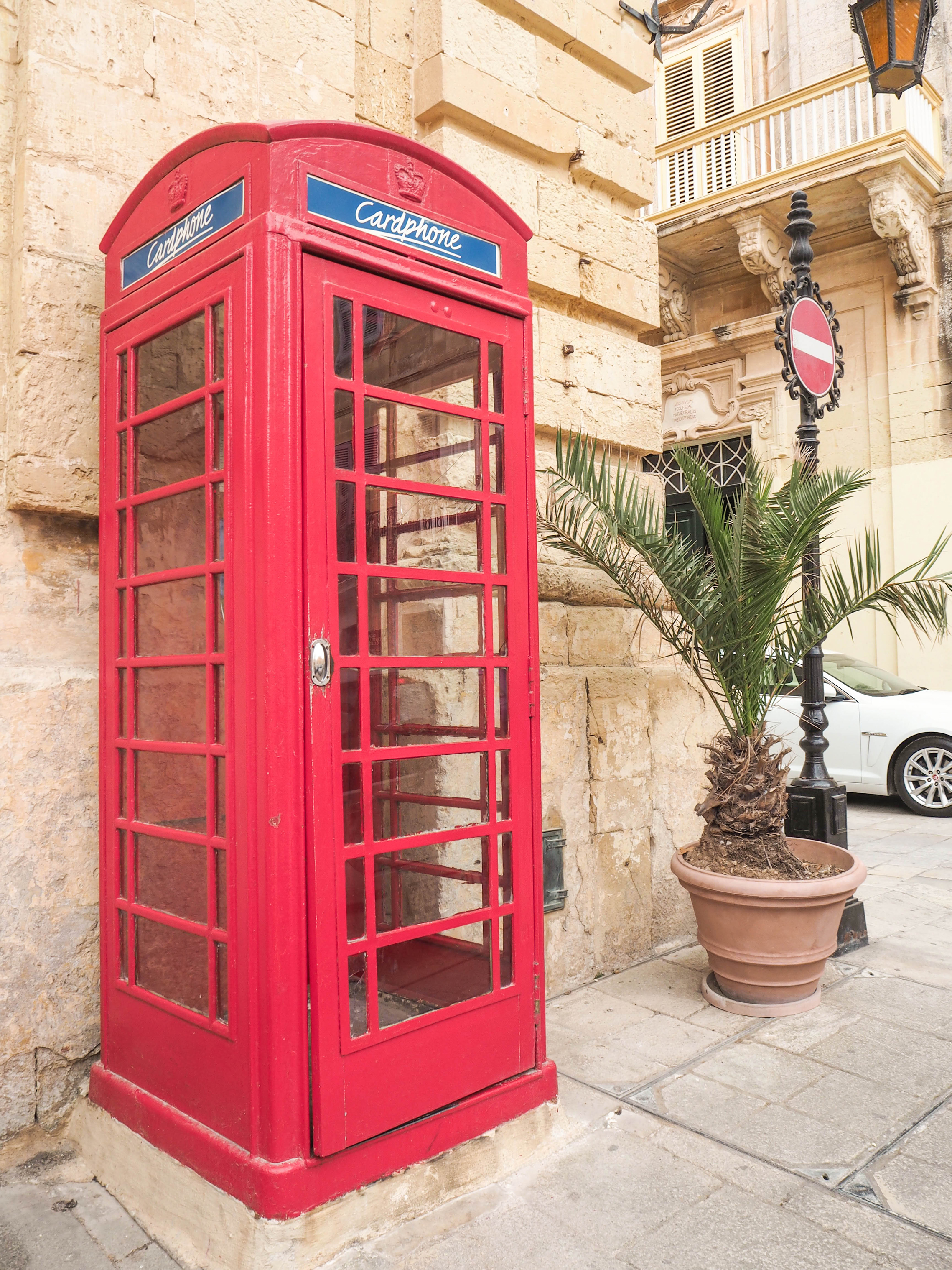 British Phone Booth, Malta